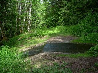 Road Stream Spring