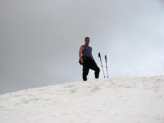 The 'Dude on Mailbox Peak