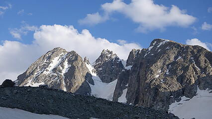 North face of Warren at left