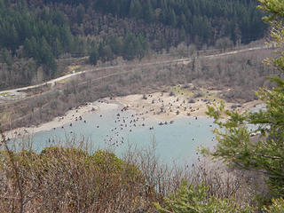 Rattlesnake Lake from first ledge