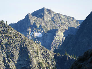 McAlesters summit back through the peaks and ridges.