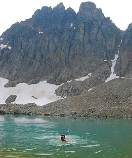 3:30pm, 7000 feet, Devore Lake