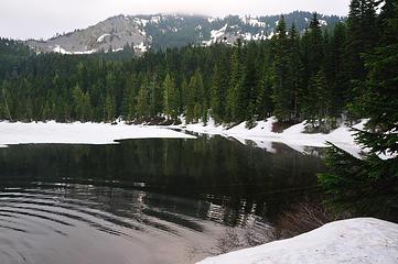 DSD_1719 - Olallie Lake slowly melting out...