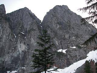 North and Middle Peaks