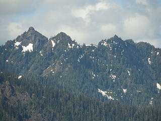 Capitol Peak from Chapel Peak summit
