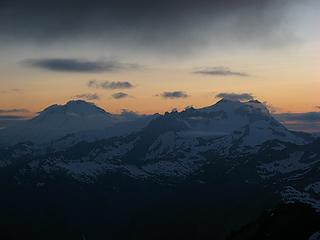Baker & Shuksan at sunset