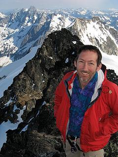 Matt on summit