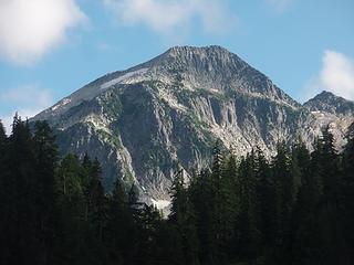 La Bohn Peak from Jade Lake