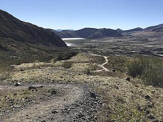 first view of Spirit Lake