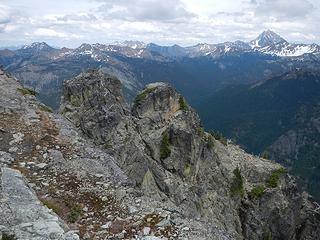 Goat summit crags
