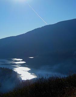 Lake Wenatchee from Dirtyface Peak  11/17/18
