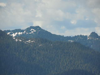 Mt Hoquiam(?) from Chapel Peak