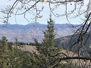 Granite Peak on the ridge in the distance