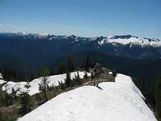 Chiwawa Ridge beyond.