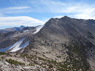North Ridge of White Mtn 12,057'