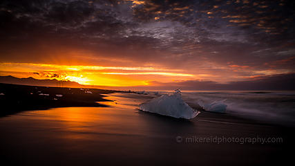 more from Jokulsarlon at sunrise in Iceland