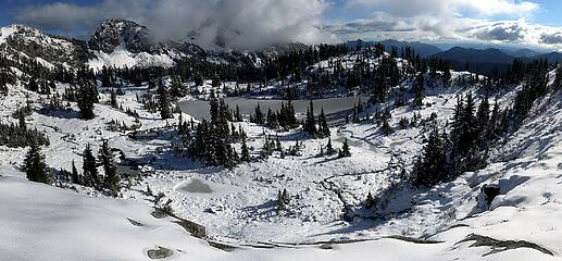 Freshly frozen Lila Lakes