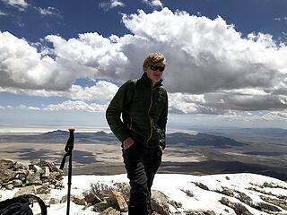 Pilot Peak in April