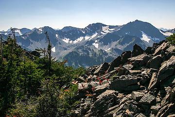 Low pass scenery