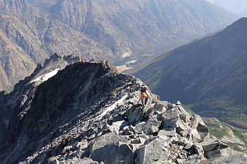 Just below Copper's summit