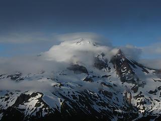 Glacier Pk from camp on Pt 6910.