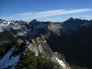 looking east along ridge of alaska