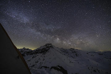 the Milky Way is out!