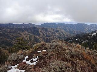 Southeast from Diamond Peak, 6379.'
