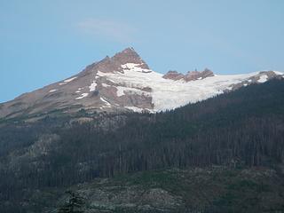 Pylon Peak and Devastation Glacier