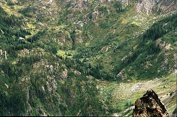 Milk Creek Basin With Waterfall- 2007