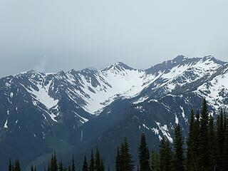 Looking into Cascade Creek from Center Mountain, 07.03.20