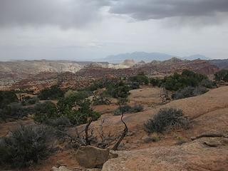 tuckaway spot on Meeks Mesa
