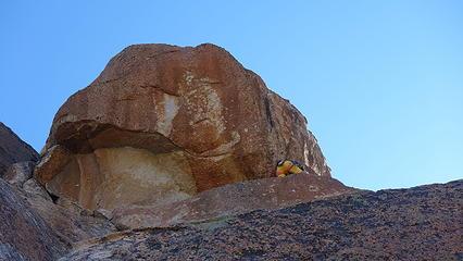 Climbing Aguja Frey