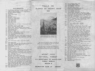 Mt. Hood Recreation Guide No. 41