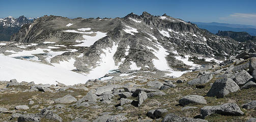 The Upper Enchantments from Annapurna Ridge