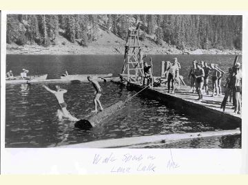 scouts at Lena Lake