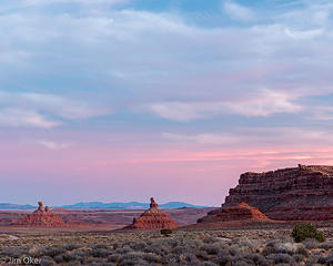 Valley of the Gods Twilight (1 of 1)