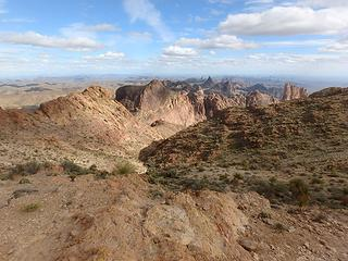 Kofa range from Signal summit