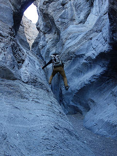 fun climbs.  Grotto Canyon Death Valley National Park, CA