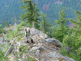 Mike on the Ridge