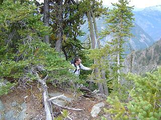 Ed on the Ridge - Sopa Peak