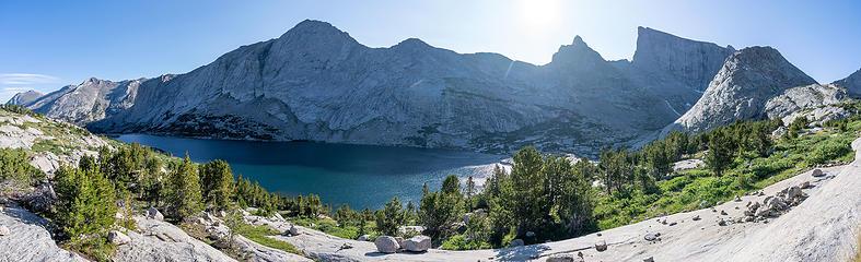 deep lake pano