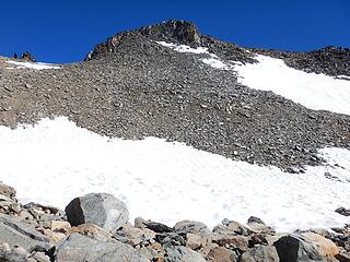 the summit up there