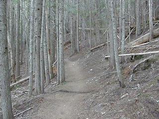 Lower Crystal Peak/lakes trail.