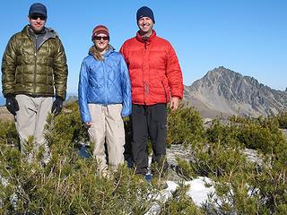 Eightmile Mountain summit shot