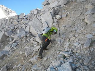 terrible choss to reach the ridge