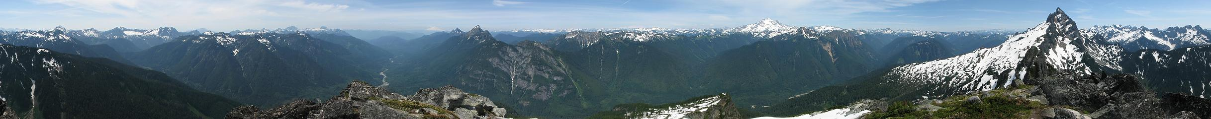 Bedal 360 summit pano