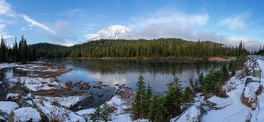Reflection Lake pano