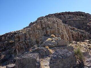 Class 3 limestone steps