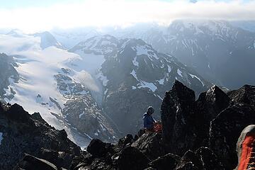preparing our descent